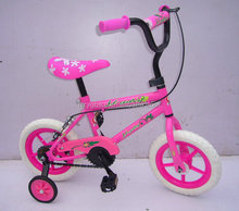 12 inch girls fixed gear bike/children bicycle with fashionable design