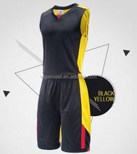 2015 China Custom Best Latest Basketball Jersey new promotion design basketball wear
