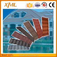 hot sell hight quantity color full stone covered roof sheet/roof tile made in china