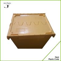 PP plastic glass crates