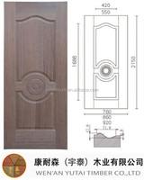 real estate construction hdf door skin wood veneer door skin moulded door skin
