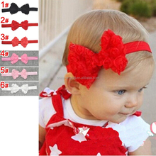 JJF0153 Cute Kids Baby Girls headband Toddler Infant Bowknot Headbands Bows Band hair accessories,