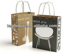 hot sale customized custom paper gift bag