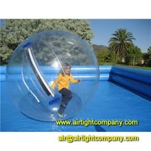 colorful or transparent water polo ball, floating water ball, water orb for options