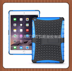 Universal TPU PC 2-in-1 smartphone mobile phone case for iPad Air 2