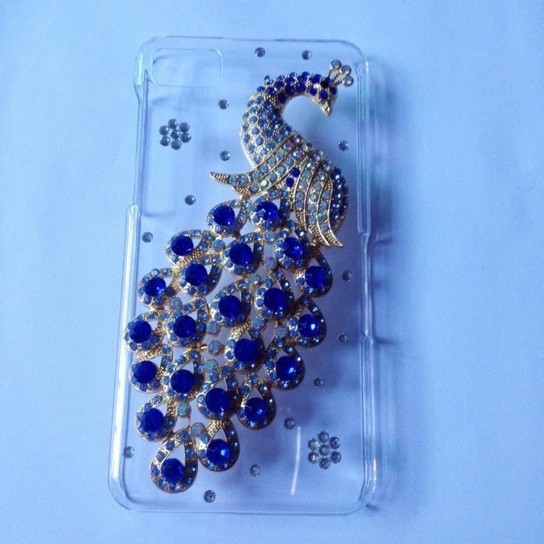в случае blackberry z10 bling crystal стразами красочные Павлин крышка для blackberry z10 алмазов случае pc кожи