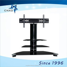 luxury modern led LCD display mirror tv stand design