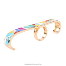 2015 Popular Alibaba Fashion Personalized Jewelry Multi Finger Rings