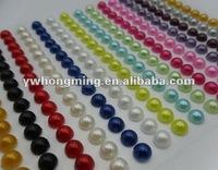 Wholesale Flatback pearl!!2012 Hot Flatback pearl for DIY phone jewelry!!