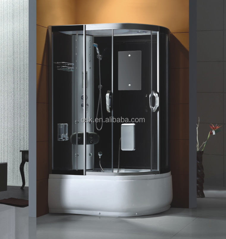 Massage Enclosed Portable Shower Cabin With Best Shower Cubicle ...