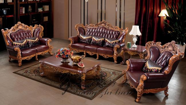 Italiano clásico tallada a mano muebles reales, hermoso estilo de ...