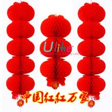 traditional chinese red lantern backdrop wedding decoration