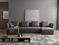 Modern Soft High Grade Fabric Modular Sofa Divan Living Room Furniture Chinese Sofa