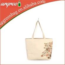 Trendy Floral Wholesale Cotton Shopping Bag