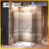 Luxury 1200x800mm 8mm glass SS big roller bathroom shower cabin