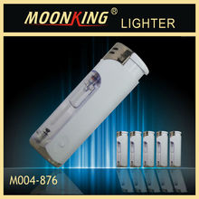 wholesale electronic lighter with ISO 9994 , cigarette lighter with child resistant with led