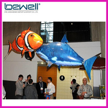 Wholesale remote control air shark electronic fish air shark toys