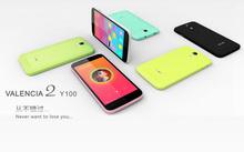 In stock! 5.0inch doogee Y100 dual sim card 1280*720pixels super slim mobile phone with price