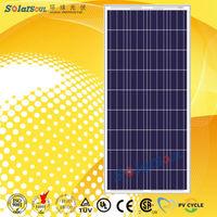 Best quality 145w kit solar power panels import with tuv ul