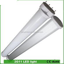 Diversified latest designs hotsell 3 years warranty 2012 new 13watt 2g11 led tube lamps