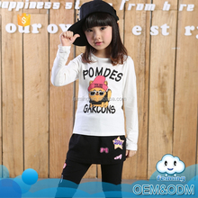 Wholesale newest popular style custom high quality 100% cotton kids clothing name brand baby t-shirt