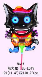 Wolf foil balloon manufactory,mini foil balloons