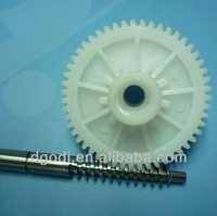 small plastic nylon worm gear