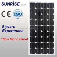 High quality pv panel Mono 120W home solar panel of factory direct sale made in China