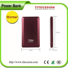 2015 fashion best quality portable power bank with large capacity for cell phone