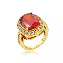 jewelry famous brand zircon and crystal Stainless steel ring
