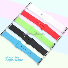 Strap Bracelet Band Silicone Fitness Replacement For Apple Watch 38mm/42mm