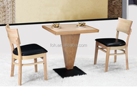 Small Wooden Kitchen Tables And Chairs Chinese Alibaba Restaurant Furniture (FOH-BCA10)