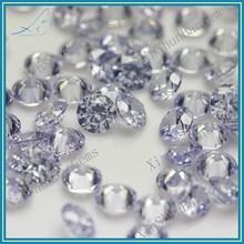 Wuzhou Round Briliant Cut Lab Created CZ Gems , CZ Gemstone Wholesale