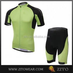 Factory price cycling bike short sleeve clothing bicycle sports/ss cycling jersey with short/uniform bike 2015