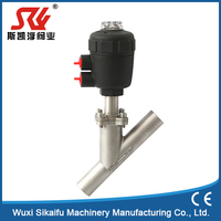 Professional manufacture Pneumatic Angle Seat Valve with low price