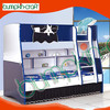 Hot sale Eco-friendly modern furniture blue kids cheap wooden bunk bed price