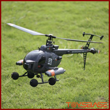 2.4g Rc Helicopter Flybarless Mode Aircraft with 6-axis Gyro RC Helicopter FX070C