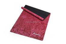 72-inch long high density natural rubber anti-slip printed yoga mat custom label pilate mat
