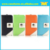 double color phone case, mix color pu leather case for iphone4/5/6/6plus, stand wallet flap cases