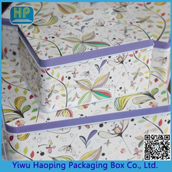 Alibaba China Famous Branding Best-Selling Exquisite Design Promotion Mental Tin Set Boxes Tin Boxes With Printing Packaging G