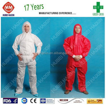 microporous disposable waterproof strong liquid and particle barrier alternative coverall