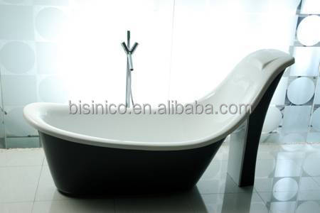 Moderna vasca da bagno free standing, mobili da bagno in pietra ...