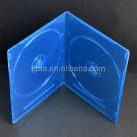 7MM Double Plastic Slim DVD Replication Blu Ray Case