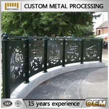 precision cheap sheet metal fence panels