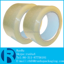 bopp adhesive clear reflective packing tape for carton sealing