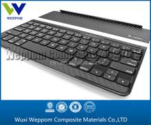 custom-made gift carbon fiber keyboard, carbon fiber cutting, carbon fiber machining