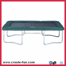CreateFun used biggest folding factory price trampoline park game rectangle trampoline 8*12ft for sale