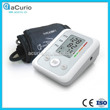 bluetooth upper arm wrist finger sphygmomanometer blood pressure monitor connected to computer,hospital blood pressure monitor