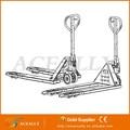 China hidráulica manual transpaleta