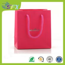 New custom packaging bag paper/cloth packaging bag/t shirt packaging bag